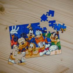 Puzzle magnetic A6 personalizat cu o poză