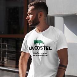 "Tricou personalizat  ""La Costel"""