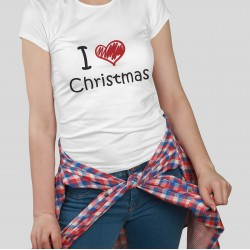 "Tricou personalizat  ""Love Christmas"""